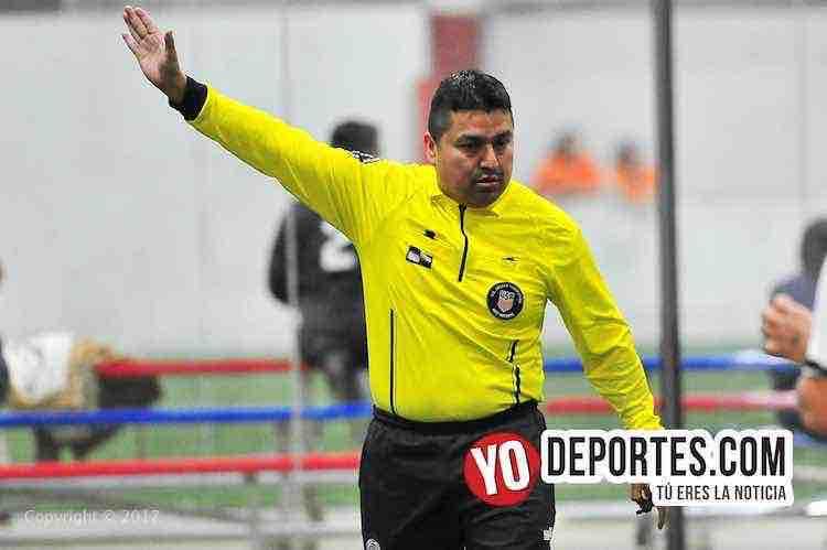 Arbirtro Enrique Reyes-Estrellas-Greenwood-AKD-Premier Academy Soccer League