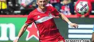 Bastian Schweinsteiger regresa al Chicago Fire para la temporada 2018