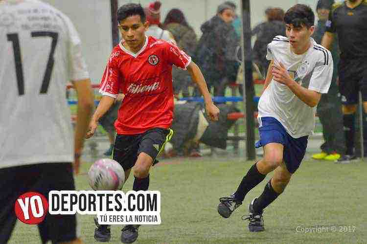 Morelos IV-U de G-Liga 5 de Mayo-chicago-futbol-indoor