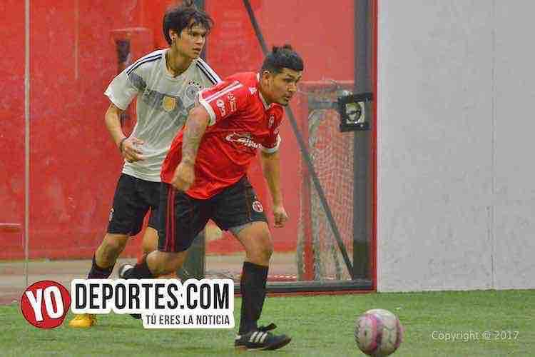 Morelos IV-U de G-Liga 5 de Mayo soccer league