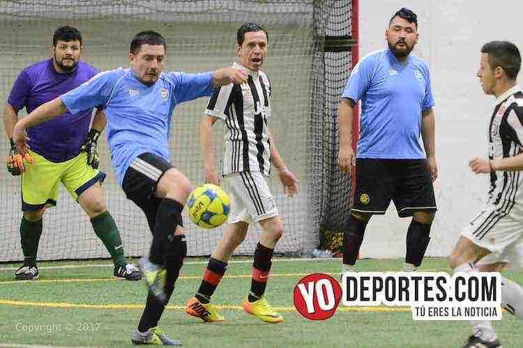 Gladiadores-Juventus-Liga Latinoamericana-chicago futbol indoor