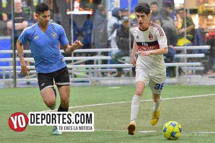 Gladiadores-Juventus-Liga Latinoamericana-futbolistas en chicago