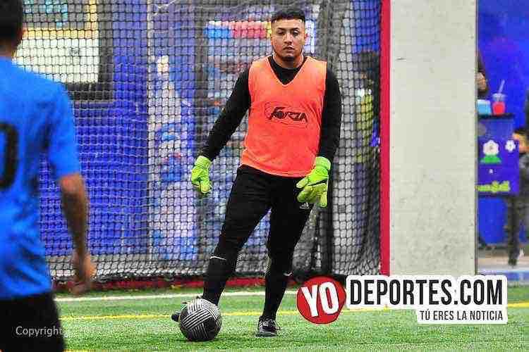 Red Fire-Dynamic FC-Liga Latinoamericana-chicago soccer indoor