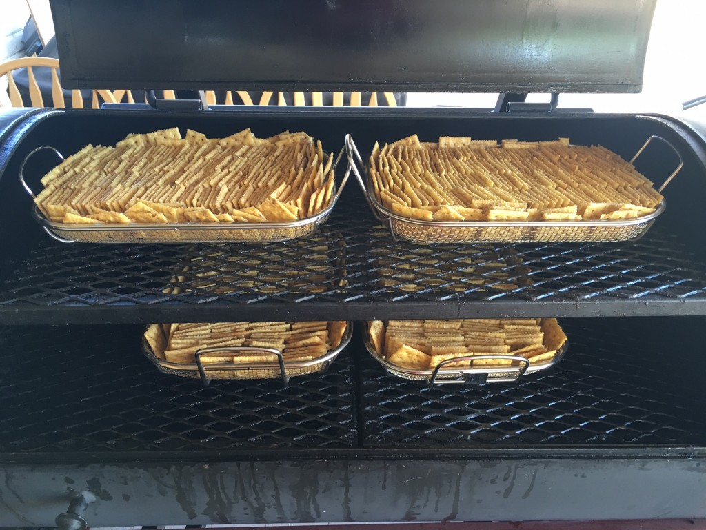 smoked crackers recipe