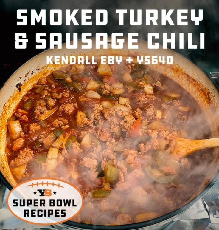 Smoked Turkey and Sausage Chili Recipe