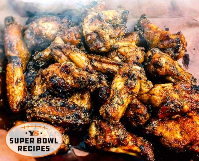 Smoked Garlic Parmesan Chicken Wings Recipe
