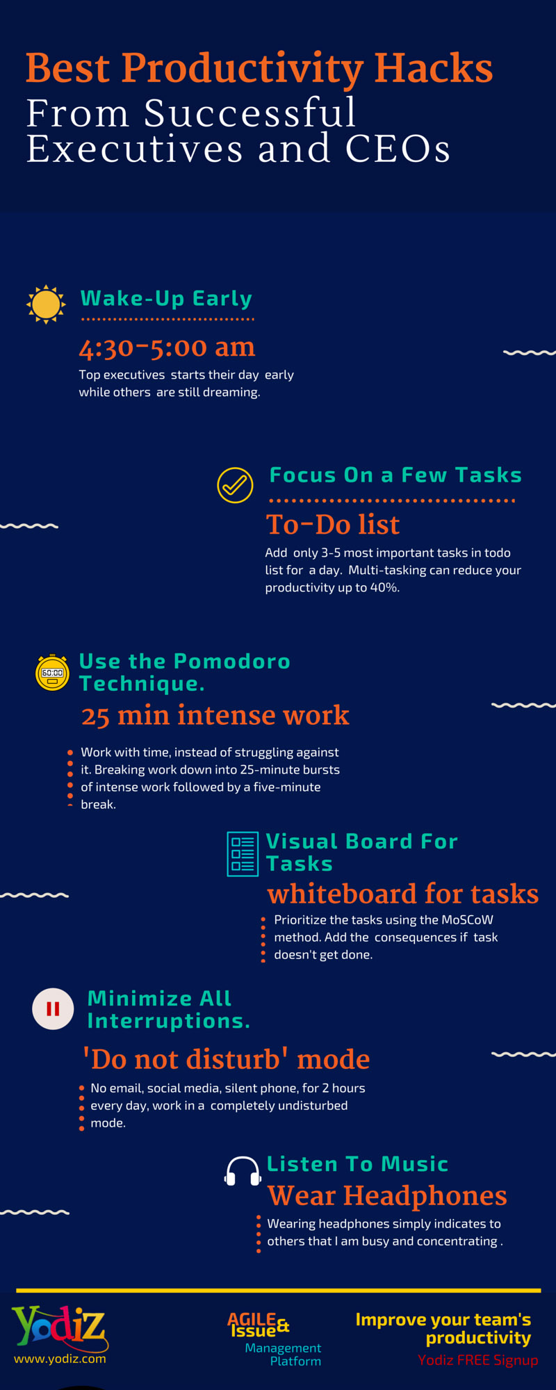 best-productivity-hacks-from-successful-executives-and-ceos-infographics