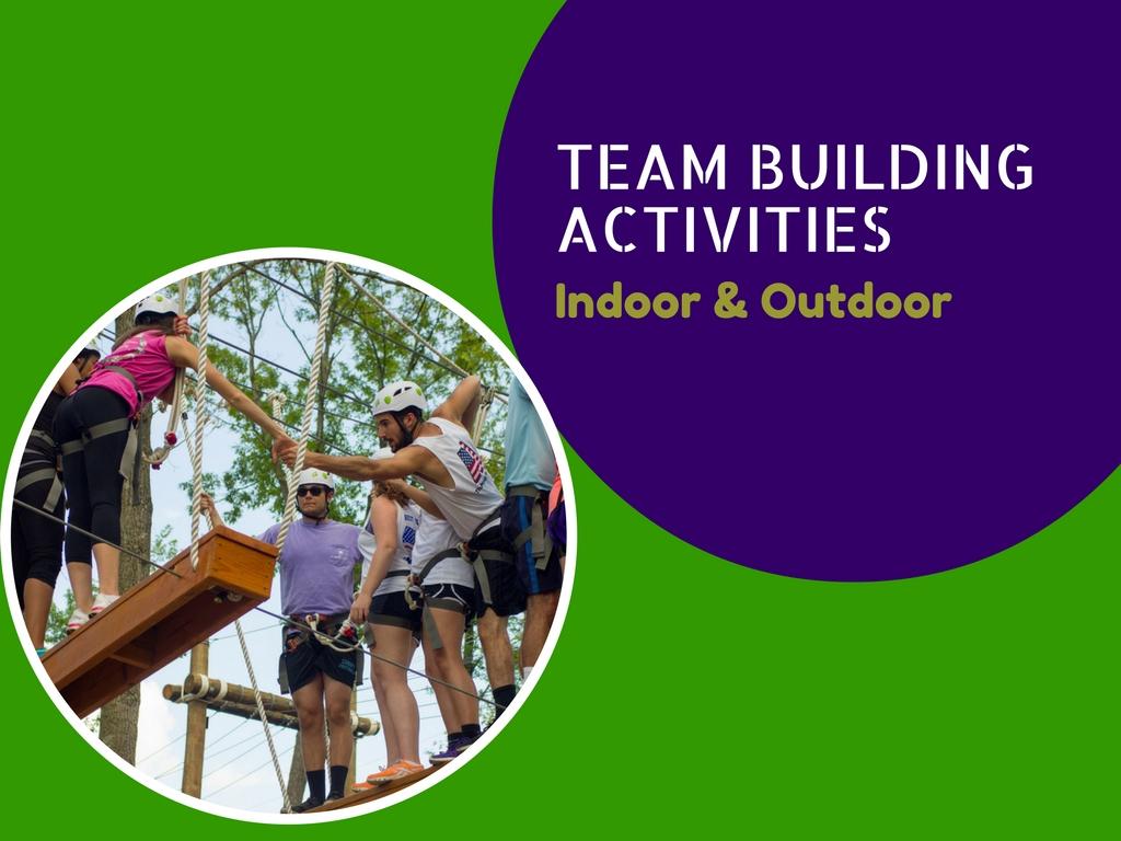 Las 12 principales actividades de construcción de equipos en interiores y exteriores