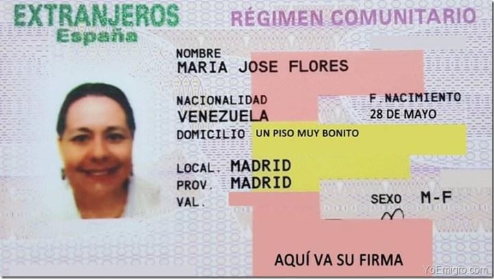 tarjeta-de-residente-de-familiar-de-comunitario-maria-jose-flores-venezolana-en-madrid