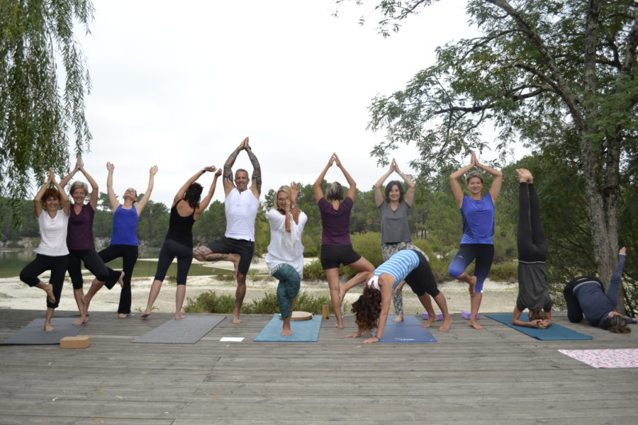 yoga cestas lac bleu