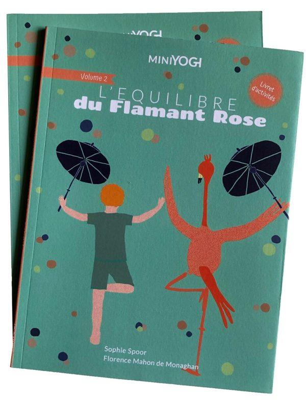 MiniYogi-Le-Flamant - Livre de yoga pour enfants
