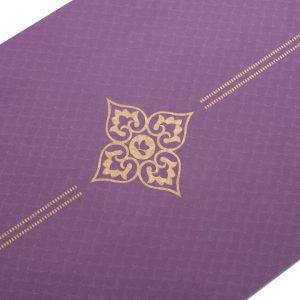 Ultra-light-Mat-Gold-Print-Violet - Tapis de Yoga en vente dans le shop de Yoga-Nest