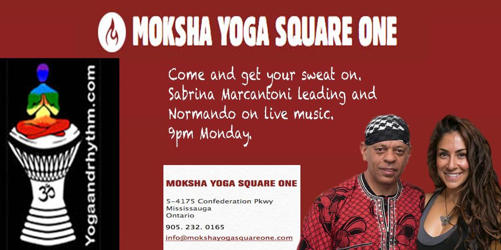 Hot Yoga Moksha Flow March 26/18 9pm