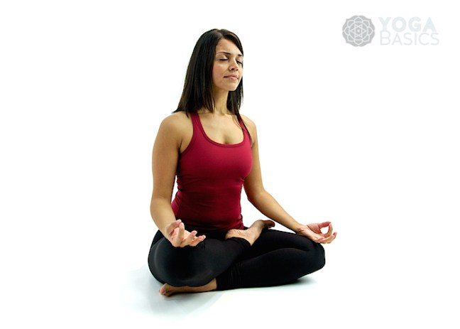 Lotus Pose: Yoga for weight loss