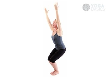 Chair Pose / utkatasana