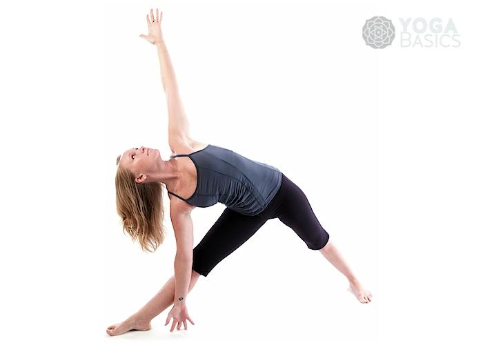 Triangle pose / Utthita Trikonasana