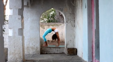 Ashtanga Yoga Demo in Mysore