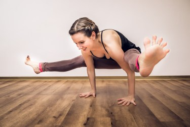 Overcome Fear in Yoga pose