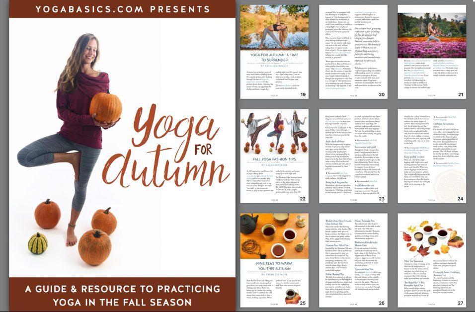 yoga for autumn ebook