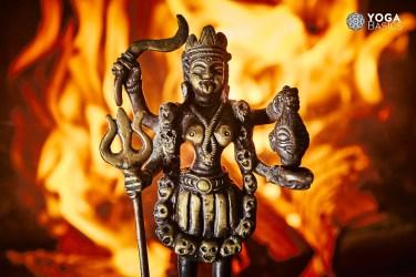 Fire Puja yoga ritual