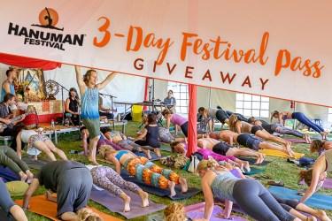 Yoga Festival Giveaway contest: Hanuman Festival