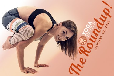 The Roundup! Hot Yoga, Face Yoga, Airplane Yoga
