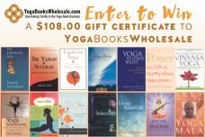 YogaBooksWholesale Gift Certificate Giveaway contest