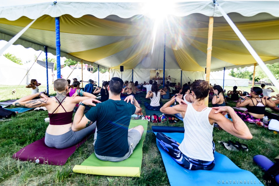 summer yoga festival
