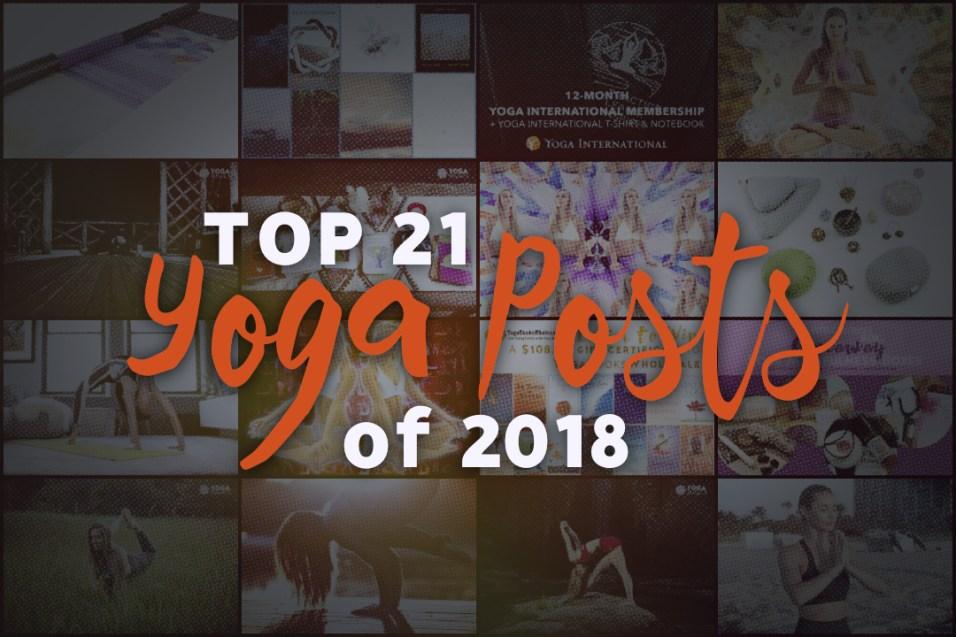 Top Yoga Articles of 2018
