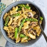 Vegan pasta recipe