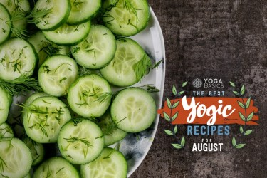 yogic recipes for late summer