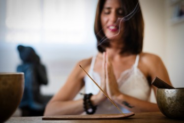 aromatherapy meditation