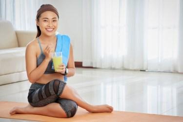 Pre-Yoga Breakfast Smoothie