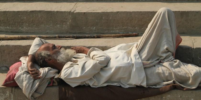 schlafender swami