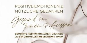 virtuell-spirituell: Geführte Meditation @ LIVE im Virtuellen Meditations-Raum