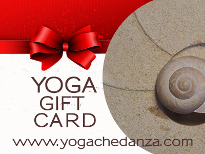 GIFT CARD YOGA  Regala un Corso di Yoga,  un'idea regalo speciale!