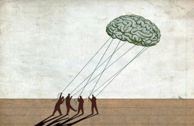 cervello immobilità