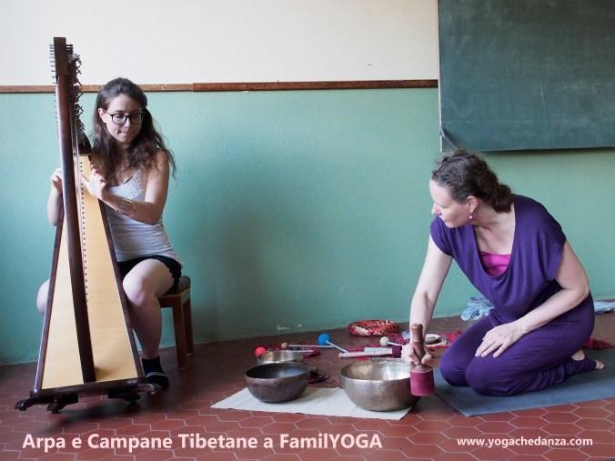 yoga educativoarpa celtica e campane tibetane montorso