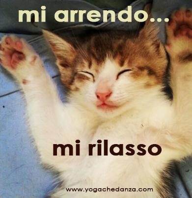 mi arrendo faccio yoga