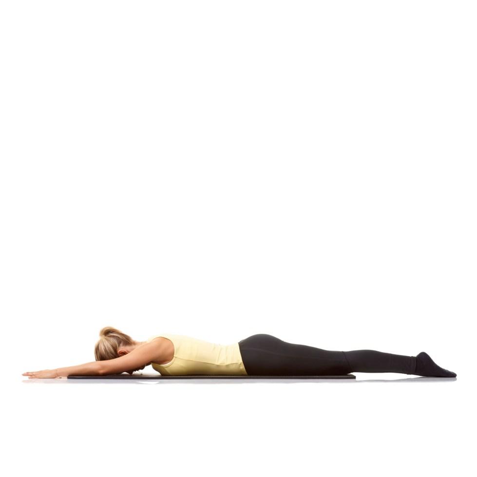 Yoga Pose: Reverse Corpse Pose | YogaClassPlan.com