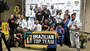 Photo of Kane with Long Beach Brazilian Top Team