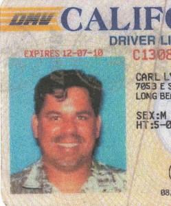 Carl Lynn Jenkins Driver License Photo