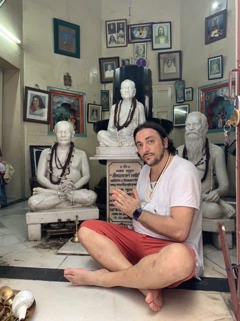 Davide R. Diesi (Swami) nella Casa di Lahiri Charan Mahasaya | 2019