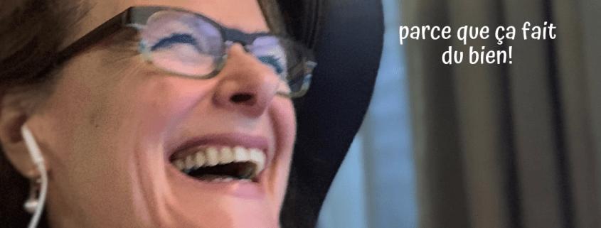 Rire en public