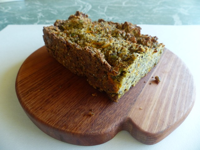 Carrot bread – Gluten and Dairy Free