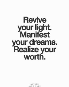 Quote Revive your light