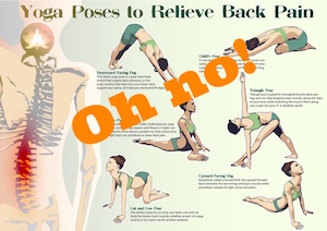 Yoga for … Pain.  Oh No!!