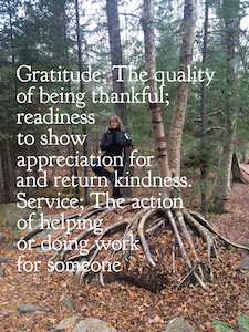 With Gratitude and Service