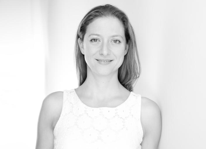 Yoga teachers Cécile Guyomard