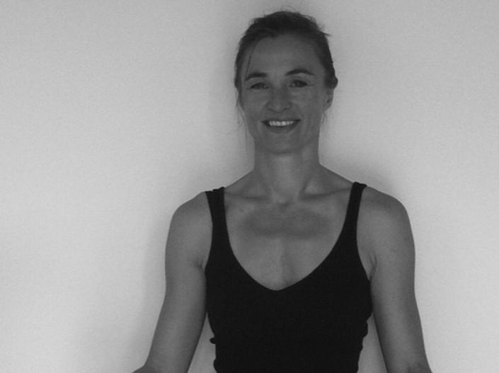 Yoga teachers Frauke Henkel